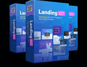 Landingkit elementor theme